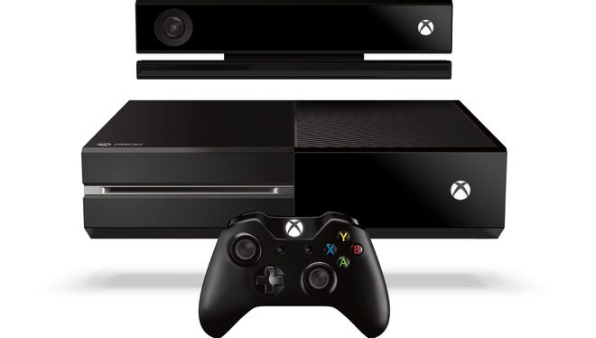 Microsoft's Xbox One system, controller and Kinect motion sensor.