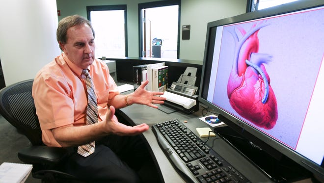 Stuart Williams, director of the Cardiovascular Innovation Institute in Louisville, Ky., was on the forefront of three-dimensional printing when he worked in Arizona and is now working on research into printing tissues such as heart valves.