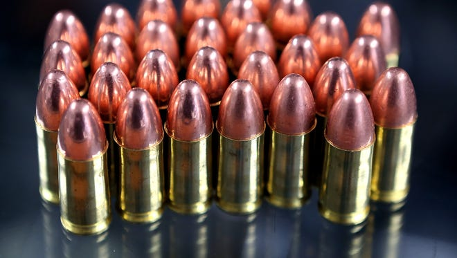 Buyers and seller of ammunition would face background checks under one of seven bills approved Wednesday by the California Senate.