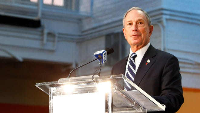 The letters were addressed to Bloomberg and contained threats referencing the debate on gun laws.