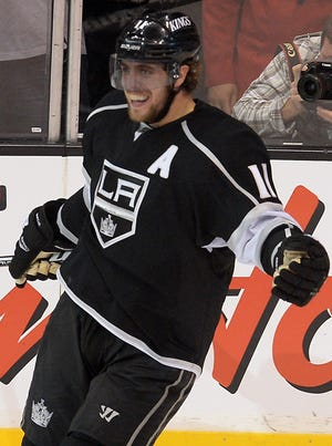 Anze Kopitar and the Kings are the first defending champions to make it out of the second round since 2009.