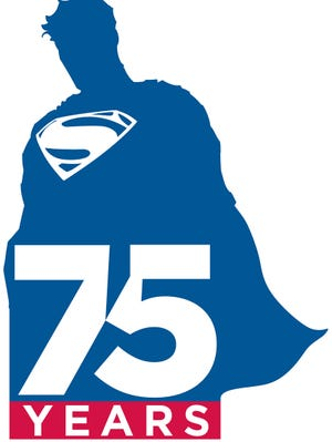 Superman is receiving a new DC Comics logo in honor of the character's 75th anniversary this year.