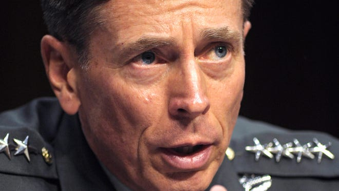 Gen. David Petraeus was hired by investment firm Kohlberg Kravis Roberts , Co. to chair their new Global Institute. (AP Photo/Cliff Owen