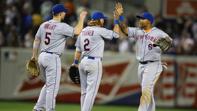 The New York Mets swept the New York Yankees for the first time in Subway Series history.