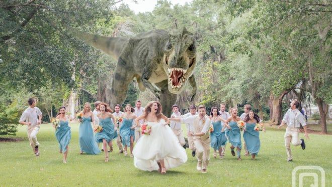 The photo of Shreveport, La., native James Lowder's wedding at The Myrtles Plantation in St. Francisville, La.
