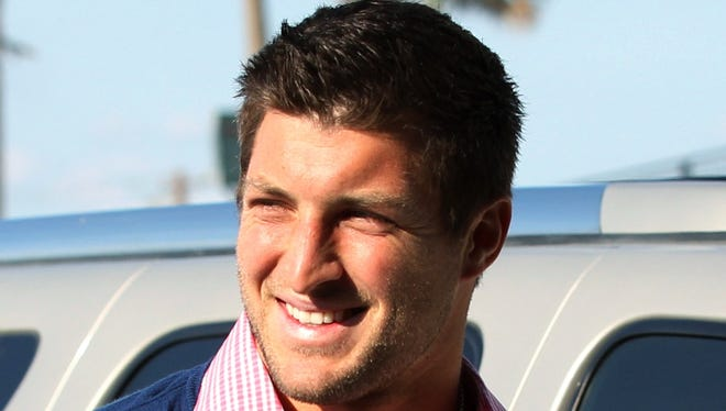 Former New York Jets quarterback Tim Tebow  hasn't given up hope of catching on with an NFL team.