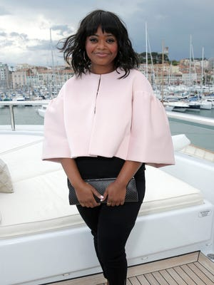 Actress Octavia Spencer, who has written a book for young readers, served as emcee for BEA's Children's Book and Author Breakfast.