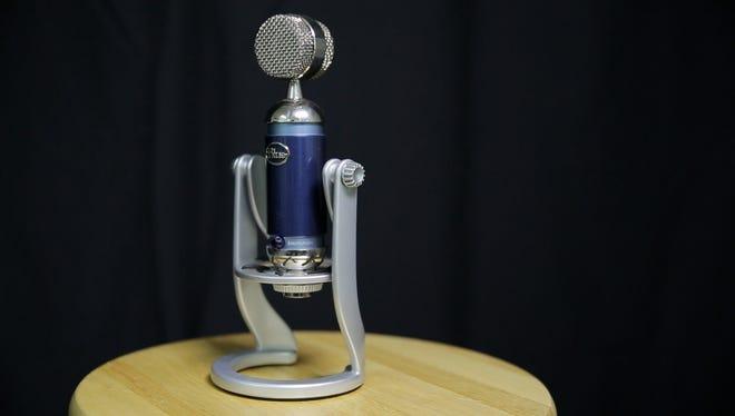 The Spark Digital microphone.