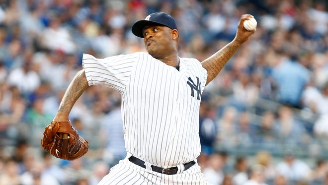 CC Sabathia pitched seven-plus innings of one-run ball to snap the Yankees' five-game losing streak.