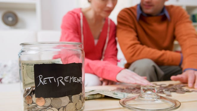 Many people are behind in saving for retirement.