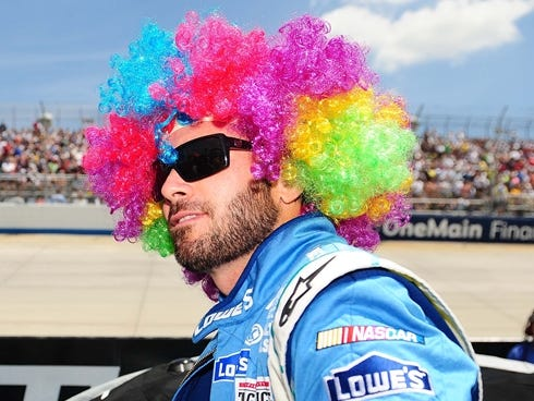 ... at Dover International Speedway. / Andrew Weber, USA TODAY Sports