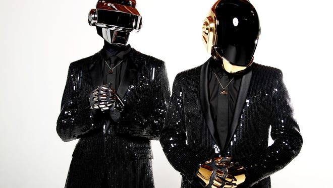 Thomas Bangalter  and Guy-Manuel de Homem-Christo from Daft Punk.