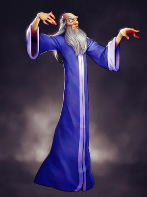 Yen Sid the sorcerer.
