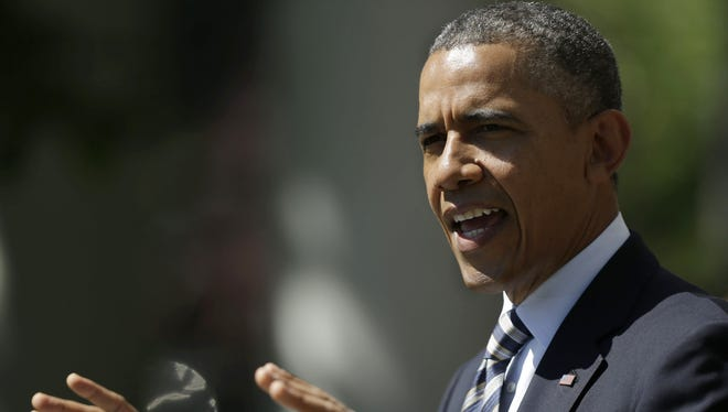 A West Virginia man was behind bars Monday on federal charges of threatening to kill President Obama.