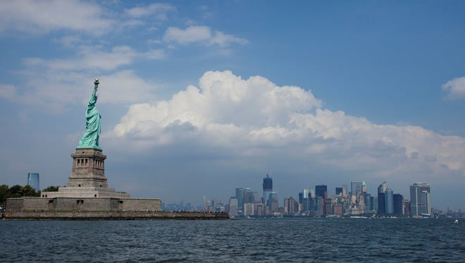 Visitors to the Statue of Liberty now have healthier lunch options.