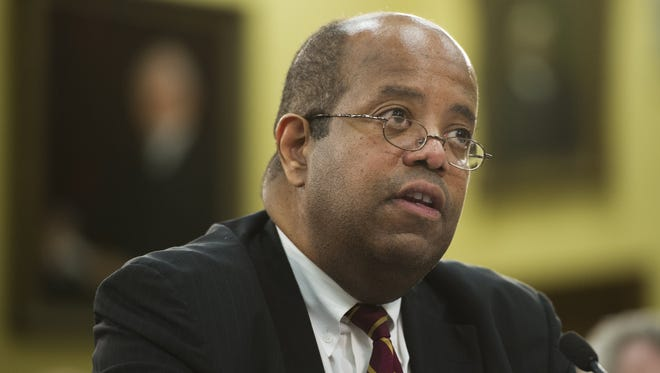 J. Russell George, Treasury inspector general for tax administration at the Internal Revenue Service.