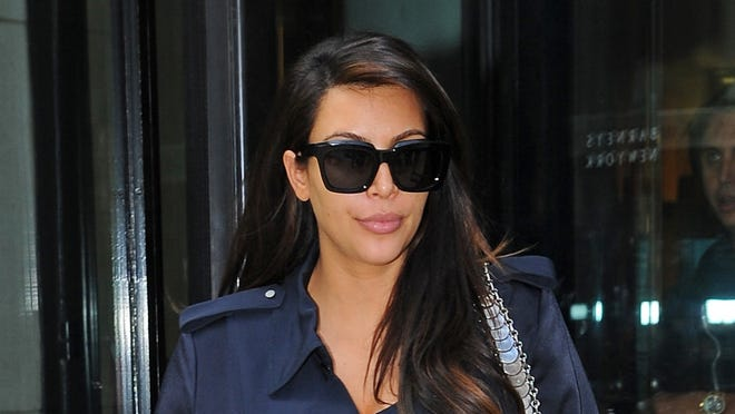 Kim Kardashian is seen out in Manhattan on May 6 in New York City.