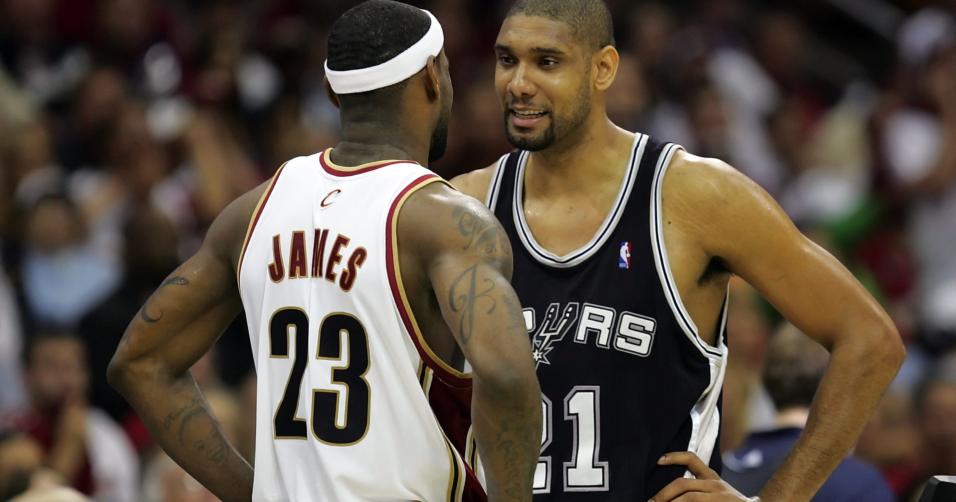 online store 4ff9c 39501 LeBron James '50 times better' than in 2007 NBA Finals