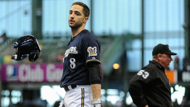 Brewers outfielder Ryan Braun had a 50-game suspension for a positive drug test during the 2011 playoffs overturned after an arbitrator ruled his sample was compromised.