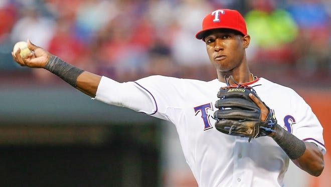 Rangers second baseman Jurickson Profar is the No. 1 prospect in the league.