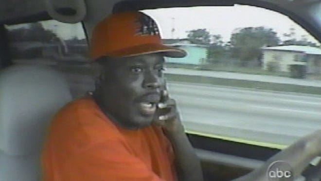 """Andrew Chambers, shown in a screen grab from a 2000 broadcast of ABC's """"20/20."""" was an informant for the DEA for 16 years. He worked all over the country and is responsible for the arrest of 445 drug dealers, the seizure of 1.5 tons of cocaine and $6 million in assets."""