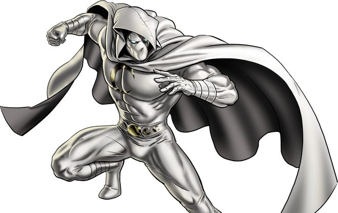 Superhero Moon Knight is among the new characters appearing in the second season of 'Marvel: Avengers Alliance.'