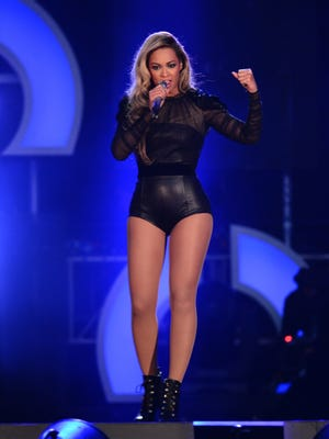 Beyonce performs at The Sound of Change Live at Twickenham Stadium in London on June 1.