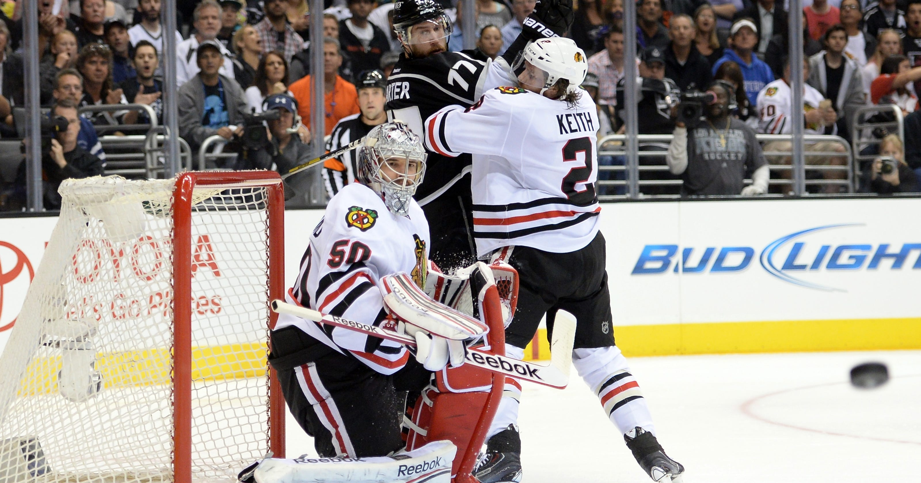 97387967a24 Duncan Keith suspended one game for high stick