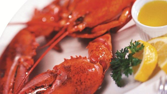 A lobster dinner.