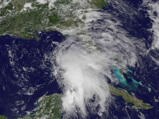 Hurricane Season Already? Here We Go Again! UPDATED: Andrea Moves Up East Coast