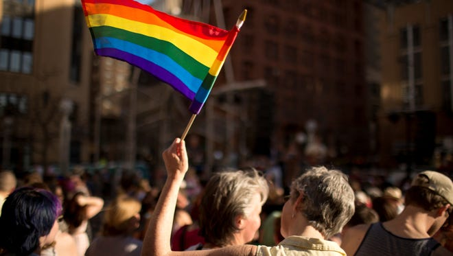 In St. Paul, an outdoor musical celebration on May 14 commemorates the signing of a gay marriage bill.