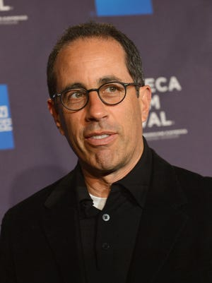 """Jerry Seinfeld attends the 'Kiss The Water""""'Premiere during the 2013 Tribeca Film Festival."""
