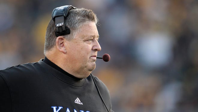 Ex-Notre Dame coach Charlie Weis enters his second season at Kansas after winning one game in 2012.