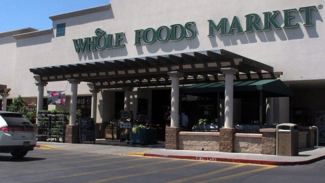 A Whole Foods Market in Albuquerque, N.M. Two employees at this Albuquerque store say they were suspended last month after complaining about being told they couldn't speak Spanish to each other while on the job.