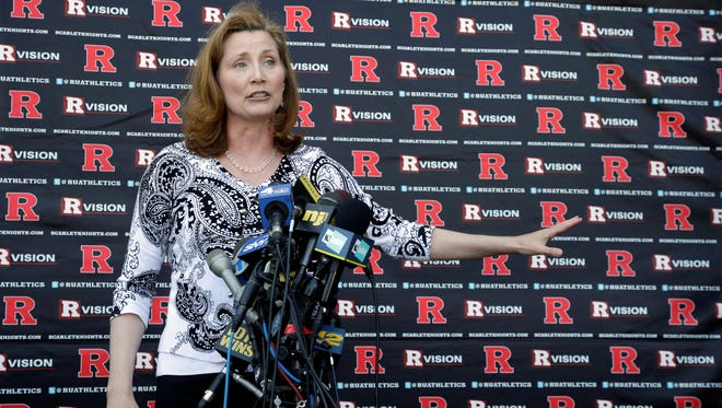Accusations of verbal abuse by Julie Hermann's former volleyball players at Tennessee did not come to light until after the vetting process and she had been hired as athletic director at Rutgers.