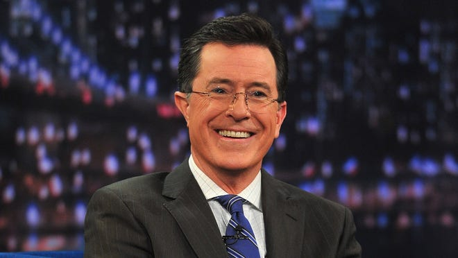 "Stephen Colbert visits ""Late Night With Jimmy Fallon"" at Rockefeller Center on February 21, 2013 in New York City.  (Photo by Theo Wargo/Getty Images) ORG XMIT: 161957257 ORIG FILE ID: 162311247"