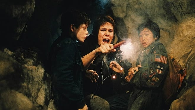 Is 'The Goonies' (with Sean Astin, left, Josh Brolin and Ke Huy Quan) a good enough way to pass a couple of hours this weekend?