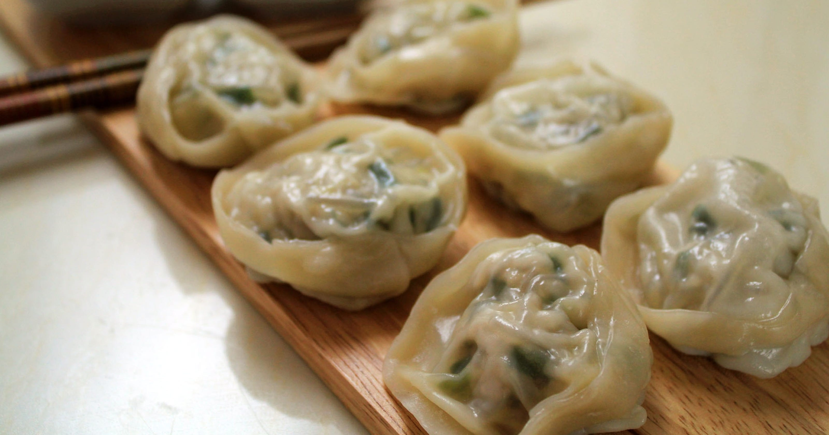 Around the world in 13 dumplings