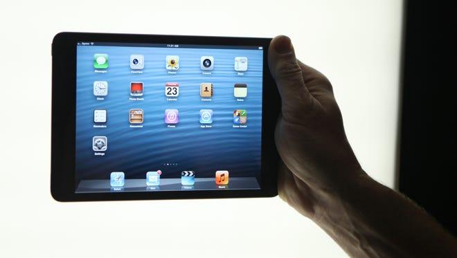 Apple's iPad Mini.