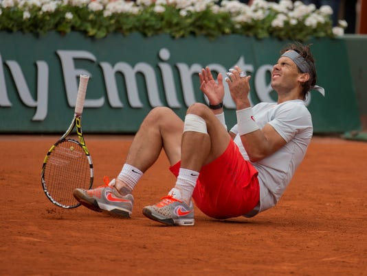 2013-6-9 nadal hits the clay USAT