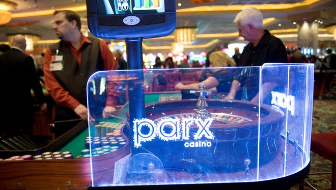 Parx Casino in Bensalem, Pa., has both table games and slots but fewer amenities than Atlantic City casinos.