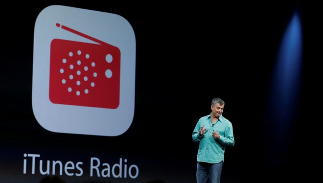 Eddy Cue the Apple senior vice president of Internet Software and Services introduces the new iTunes Radio.