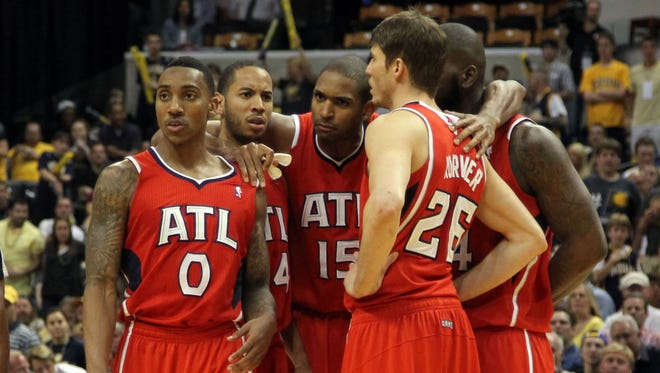The Hawks have a lot of cap space and are pushing for top-level free agents.