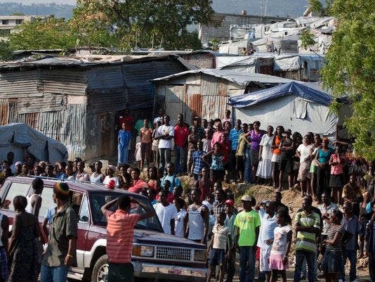 U.N. condemns eviction of about 150 Haiti families