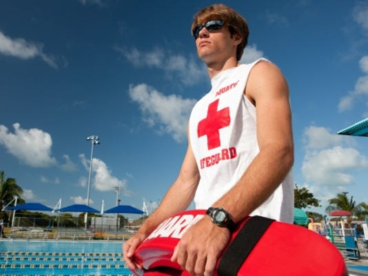 teen lifeguard