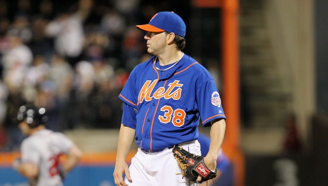 Shaun Marcum is 0-7 with a 4.96 ERA but can be had for the right price.