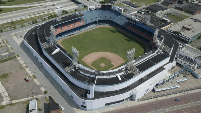 Tiger Stadium hosted Major League Baseball in Detroit from 1912 to 1999.