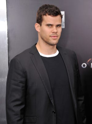 NBA player Kris Humphries was at the 'Man Of Steel' premiere in New York where he said he was happy to be divorced at last.