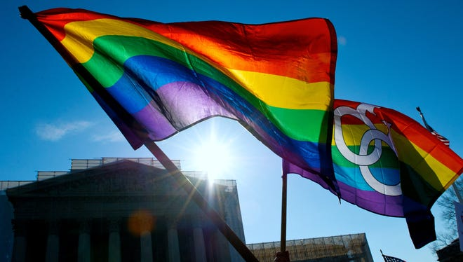 The Supreme Court is expected to rule on same-sex marriage by the end of this month.