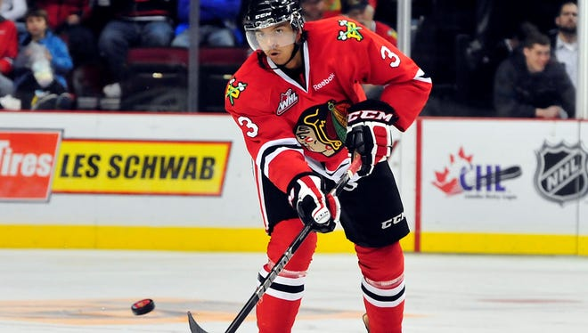 Seth Jones is the top defenseman in the 2013 draft and the projected No. 1 overall pick.